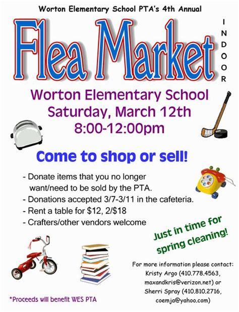 flea market flyer template afefa