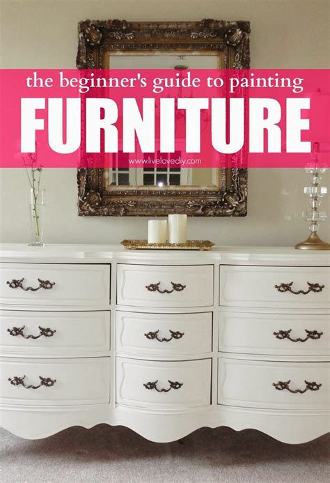 tips on painting furniture the secret to restoring old furniture diy craft projects