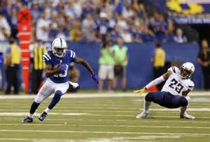 T.y. Hilton, 'the Ghost', Busts Bolts Coverage Late For