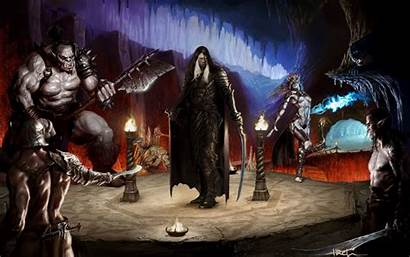 Dragons Dungeons Wallpapers Fantasy Drizzt Realms Forgotten