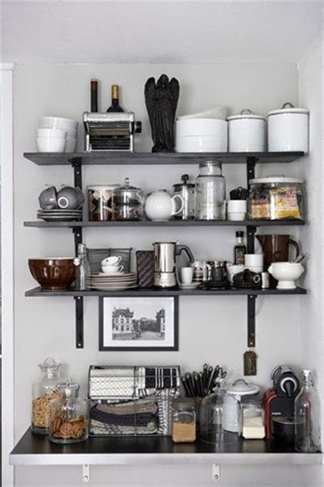 Open Kitchen Shelves Pinterest