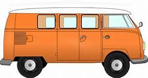 Vw Van Clip Art at Clker.com - vector clip art online ...