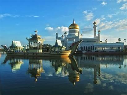 Brunei Bandar Seri Omar Ali Mosque Sultan
