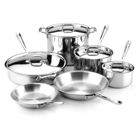 clad cookware piece stainless pan tri ply sauce d3 pots line pans wants cook really christmas