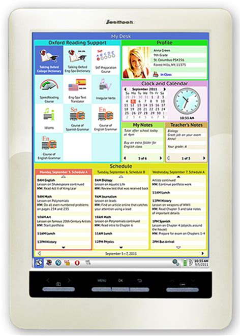 color e ink the jetbook color etextbook tablet has 9 7 color e ink