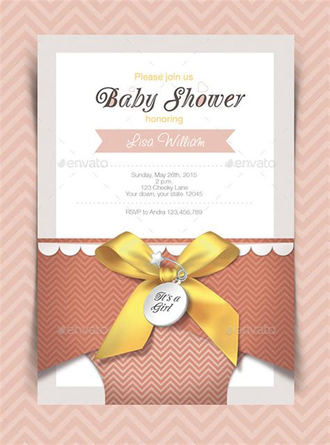 baby shower card template 32 baby shower card designs templates word pdf psd eps format free premium templates