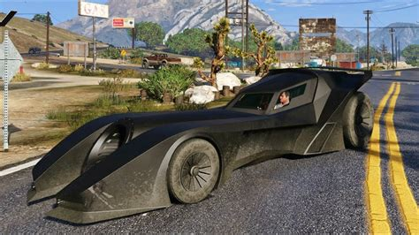 gta  batmobile vigilante smugglersrun dlc
