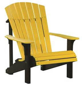 rent a pit luxcraft poly deluxe adirondack chair swingsets luxcraft