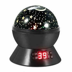 Led, Projector, Lamp, Kids, Night, Light, Star, Moon, Projection, Night, Lamp, 360, U00b0, Rotation, Timer, For