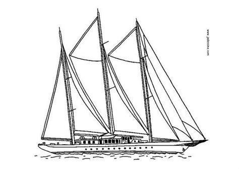 Dessin De Grand Bateau coloriages coloriage d un grand bateau 224 voiles fr