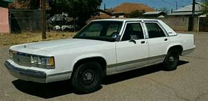 1991 90 91 Ford Crown Victoria Police Package Az Rust Free