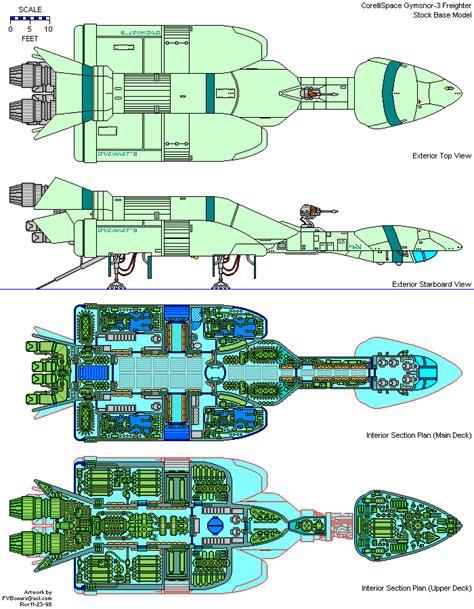 Starship Deck Plans Wars by Wars Starship Deck Plans