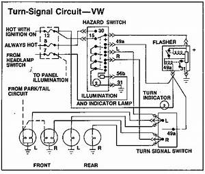 1968 Vw Turn Signal Wiring Diagram