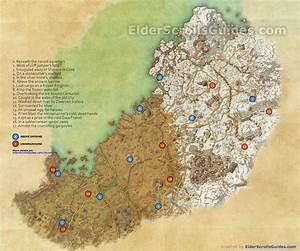 Wrothgar Skyshards Map Elder Scrolls Online Guides