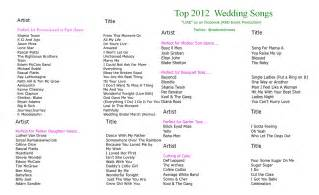top wedding reception songs best songs for wedding reception 2014 invitations ideas