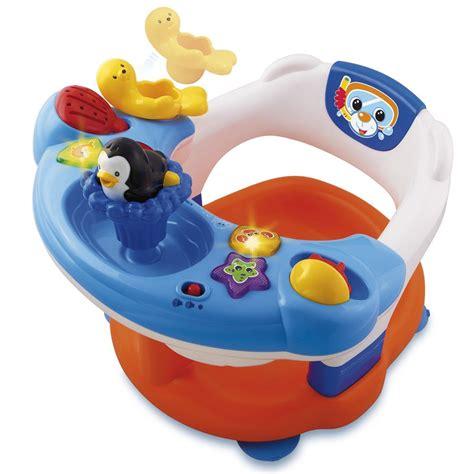 bain de siege bebe siège de bain interactif vtech jouets 1er âge jouets