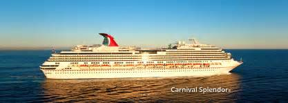 week long carnival splendor cruise to new england and