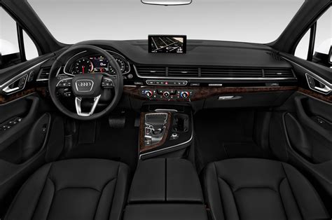 audi suv q7 interior 2017 audi q7 reviews and rating motor trend