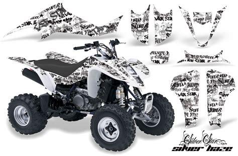 suzuki ltz400 03 08 graphics kit silverhaze blackwhitebg 890 of 1366