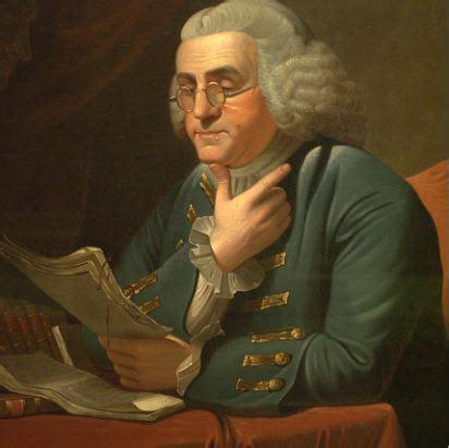Benjamin Franklin Imagining An American Identity