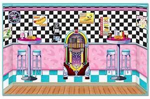 50's Soda Shop Insta-Theme, 50's Backdrops & Props