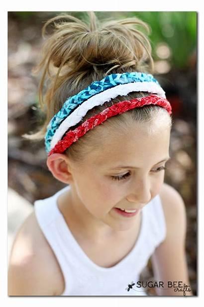 Headbands Headband Braided Sew Fabric Knotted Diy