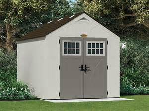 suncast tremont 174 8 x 10 storage building at menards 174