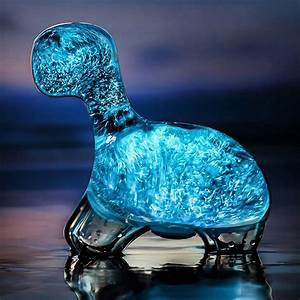 Bioluminescent Plankton Glowing Dino Pet - The Green Head