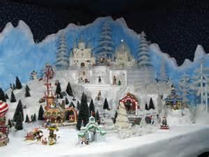 North Pole Christmas Village Display