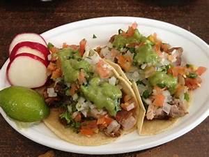 Carnitas de puerco (roast pig) tacos. | Yelp