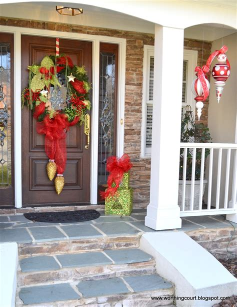 outdoor christmas decoration ideas   budget