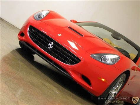 Save $106,108 on a used ferrari near you. Used 2010 Ferrari California For Sale (Special Pricing) | San Francisco Sports Cars Stock #234234424
