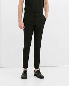 pantalon homme noir zara pickture With pantalon a carreaux homme
