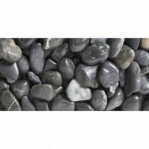 Cailloux Blanc Leroy Merlin : galets pierre naturelle noir zen 50 70mm 25 kg leroy merlin ~ Nature-et-papiers.com Idées de Décoration