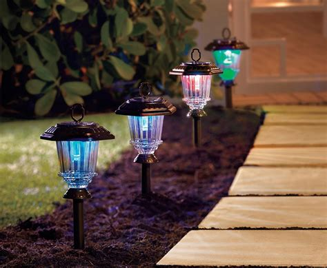 solar yard lights solar outdoor lighting ideas improvements