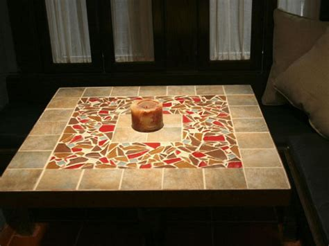 tile kitchen table top how to make a tile mosaic tabletop hgtv