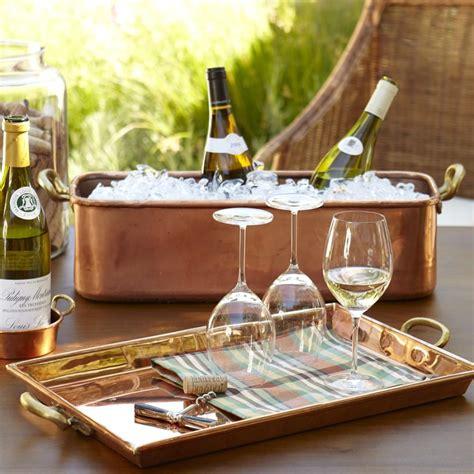 copper rectangular tray williams sonoma au