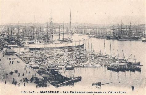 le vieux port cing 10 images anciennes du vieux port de marseille g 233 n 233 provence