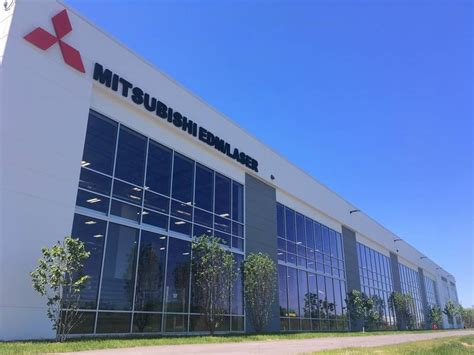 Mitsubishi Headquarters by Mitsubishi Subsidiary Mc Machinery Systems Opens In Elk Grove