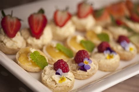 dessert canapes lemon and lavender scone canapes recipe all recipes uk