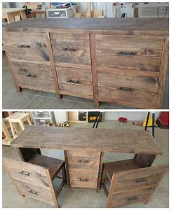 ana white hidden desk diy projects With homemade furniture texas