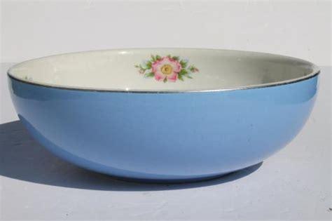 vintage 39 s bowl parade parade china vintage pottery mixing bowl big