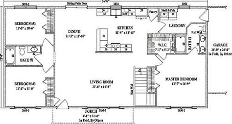 Open Concept Ranch Style House Plans Beautiful Ranch Homes