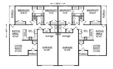 duplex house plan sd