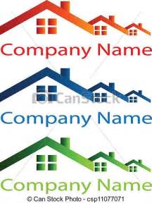 Real Estate House Logo Clip Art
