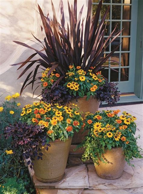 fall container planting ideas stunning container gardening ideas gardens and outdoor fun pinter
