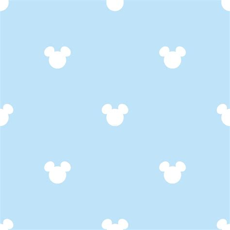 official disney mickey mouse logo pattern childrens wallpaper mk3015 2