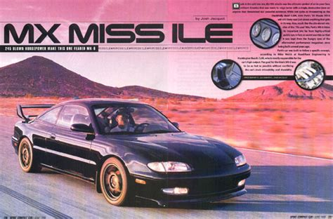 Sports Compact Cars by 187 Sport Compact Car Magazine Mx Missile Road Race