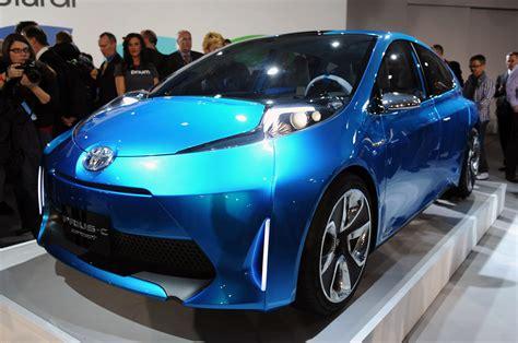 Toyota Prius C Concept Detroit 2018 1