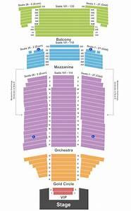 Fox Performing Arts Center Seating Chart  U0026 Maps